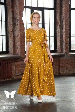 """Платье-балахон """"Хуанхэ"""" - магазин православного платья """"Барышня-крестьянка"""""""