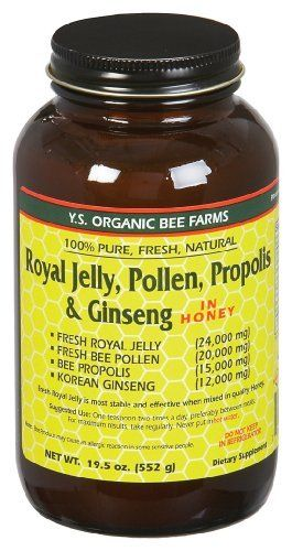 YS Royal Jelly/Honey Bee - Fresh Royal Jelly+, 24000mg, 18.2 fl oz liquid - http://goodvibeorganics.com/ys-royal-jellyhoney-bee-fresh-royal-jelly-24000mg-18-2-fl-oz-liquid/