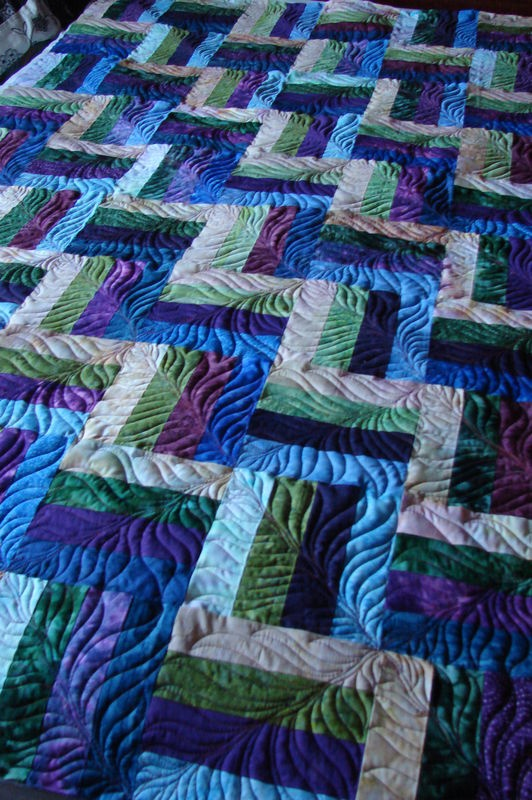 Simple Pattern Beautiful Quilting The Quilting
