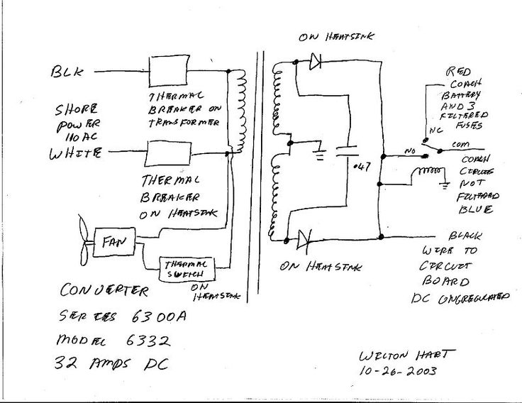Arc Switch Wiring Diagram 9 Notes On The Troubleshooting And Repair Of Microwave Ovens