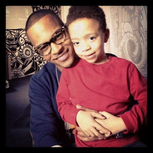 T.I., his smile, and his son.