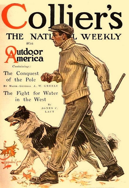 1909 J C Leyendecker Collier's cover