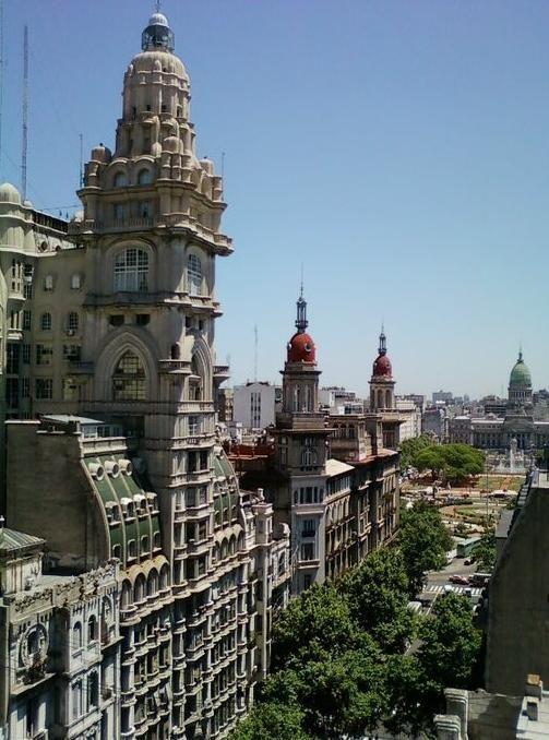 Palacio Barolo building. Buenos Aires, Argentina