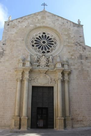 The front entrance of Cathedral of Otranto  |   Otranto, Italy