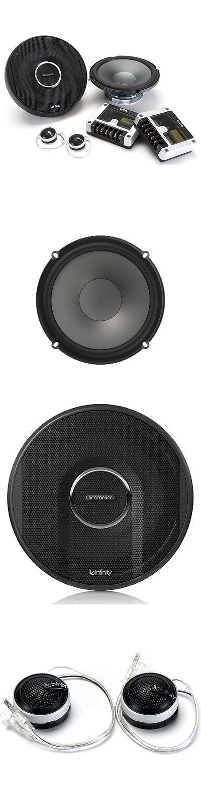 Car Speakers and Speaker Systems: Infinity Reference 6500Cx 6-1/2 (165Mm) Two-Way Car Audio Component Loudspeaker BUY IT NOW ONLY: $90.85