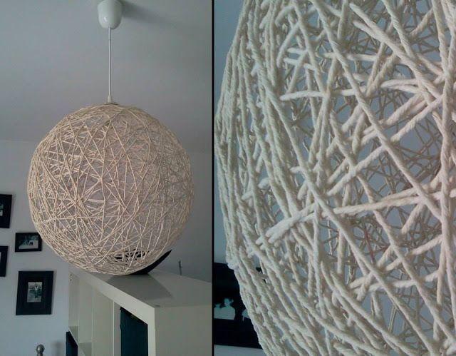 LAMPA ZE SZNURKA / STRING LAMP