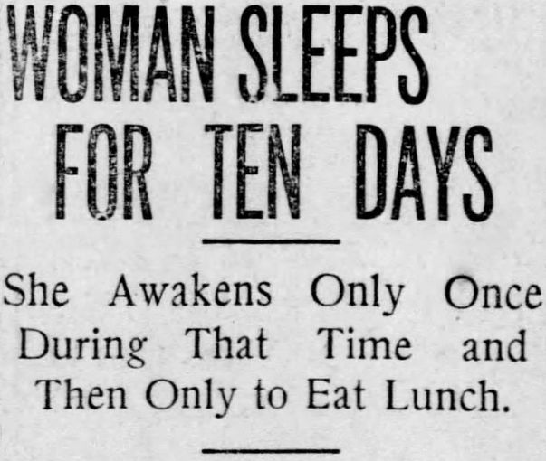 MY HERO! St. Louis Post-Dispatch, Missouri, April 9, 1910