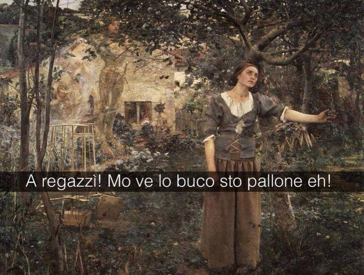 Se i quadri potessero parlare Giovanna d'Arco - Jules Bastien Lepage