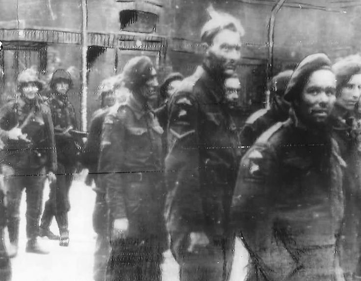 British Commandos captured during the Normandy Invasion