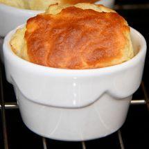 Ma recette du jour : Soufflé jambon fromage sur Recettes.net
