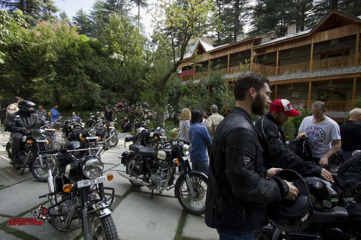 Our Trans-himalayn ride starts from Manali, located at 2000mtrs.