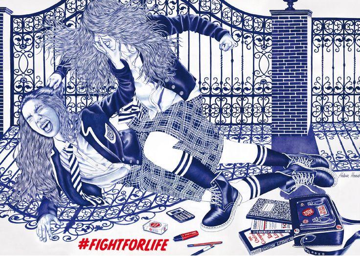 Helena Hauss #fightforlife