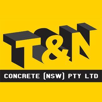 T & N Concrete Logo Design