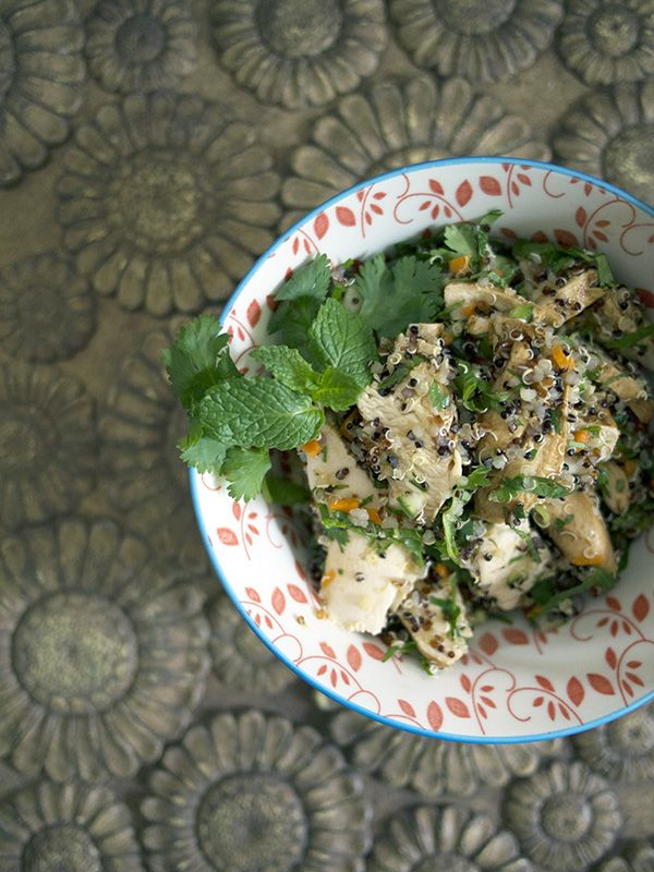 All About Asian Chicken And Quinoa Salad Recipe Food Network