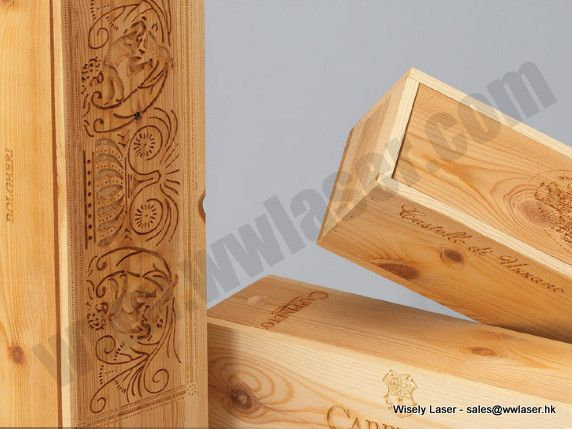 Dedicate Wood Laser Engraving from Wisely Laser Co2 laser.  30W Co2 laser marker with US Synrad metal refill laser source, excellent performance!!!
