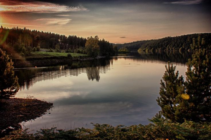 Langsett's Still Evening Waters
