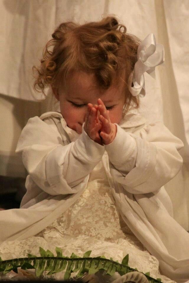 Sweet Baby Praising God | Gods Precious Children Praying ...