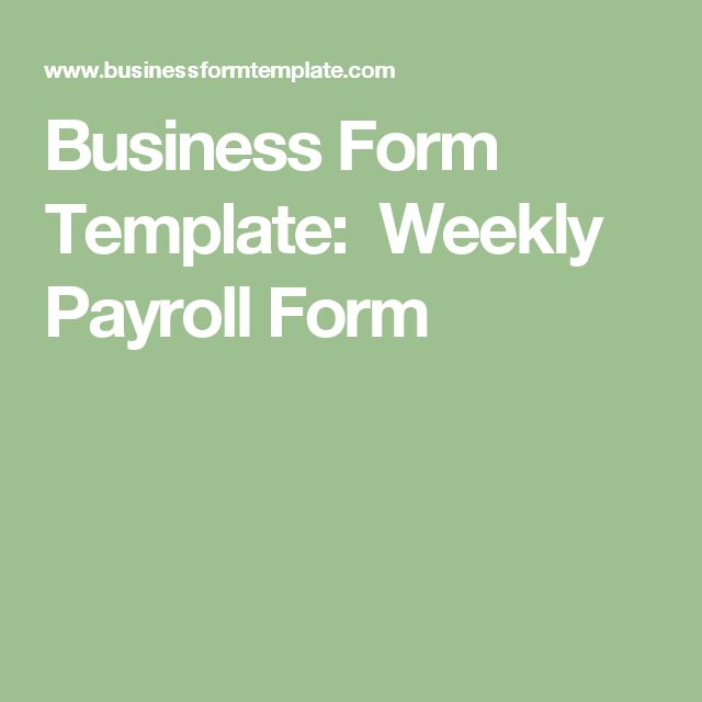 Payroll Forms Templates Click Here To Download This Free Template