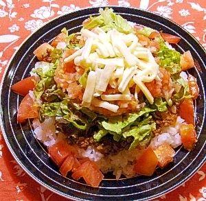 「沖縄の味★タコライス」もうタコライスの素は要りません!家にある材料でできます(´∀`)ノ【楽天レシピ】