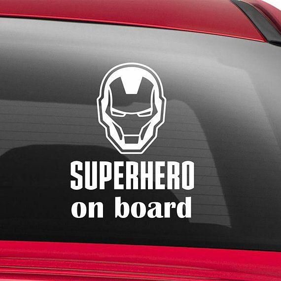 Batman and Joker Babies on Board Vinyl Vehicle Decal DC Comics Sticker