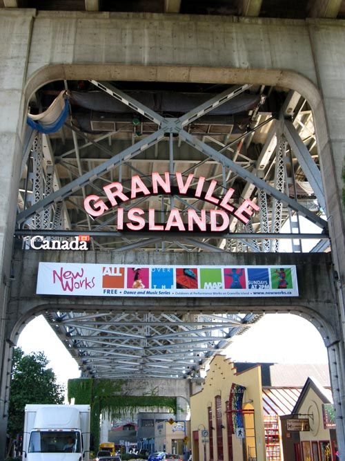 Granville Island, Vancouver, British Columbia, Canada (I used to love going there as a child, there was a shop that sold the tastiest frozen yogurt!). #Canada #travel #cities
