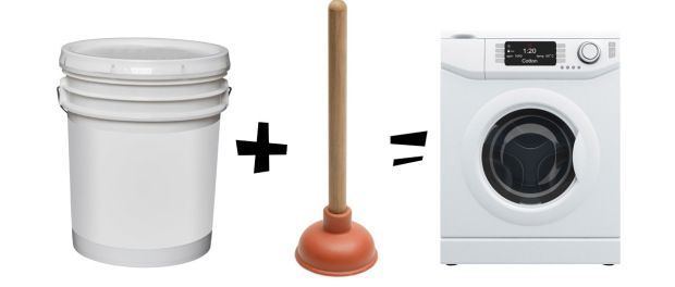 Plunger-washing-machine