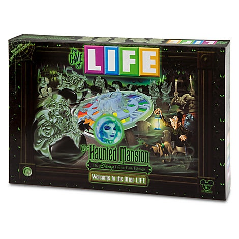 The Game of Life® The Haunted Mansion® Disney Theme Park Edition | Halloween | Disney Parks Product | Disney Store They also had a Disney Monoply game when we were at the Villains store. I still might call down for that one!