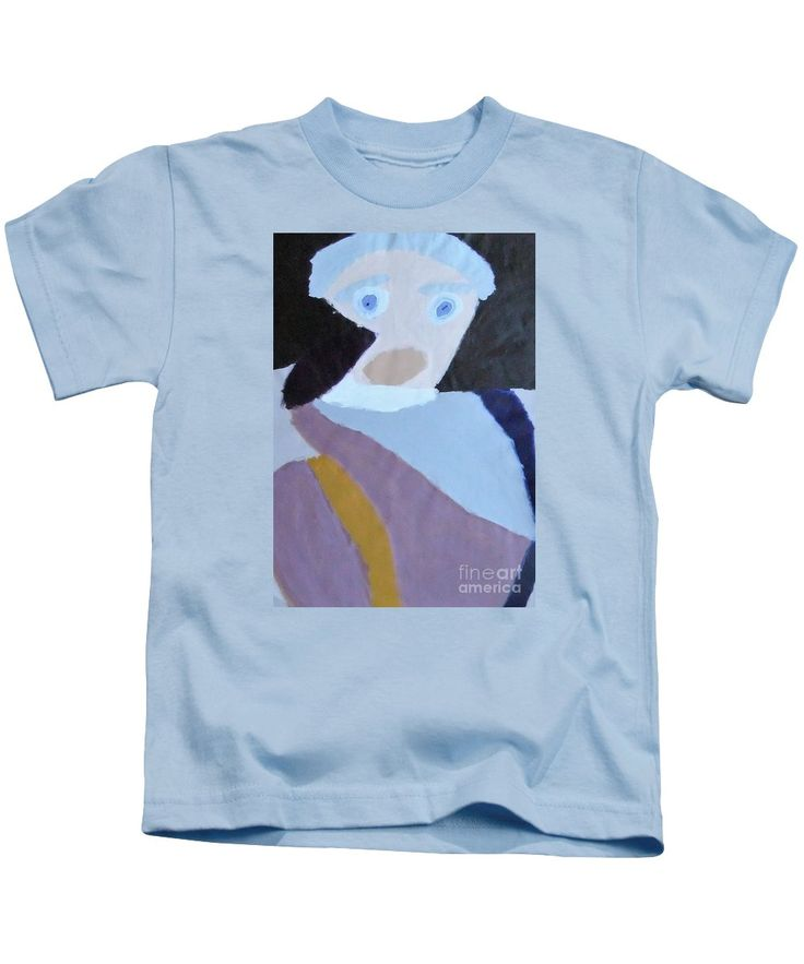 Patrick Kids T-Shirt featuring the painting Portrait Of A Lady 2014 by Patrick Francis