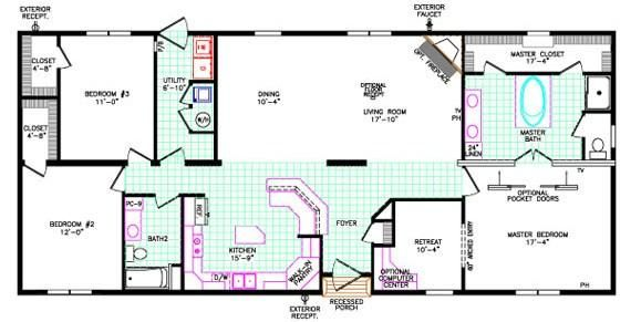 house aa homes skyline floor 040 square modular home floor plans homes