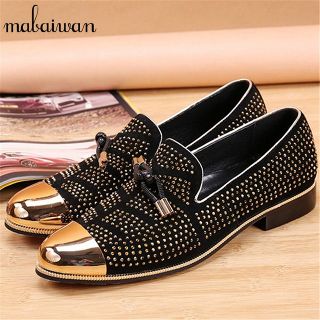 Special offer Gold Rhinestone Pionted Toe Mens Loafers Party Dress Shoes Slip On Casual Shoes Men Flats Tenis Espadrilles Mans Footwear just only $80.64 with free shipping worldwide  #menshoes Plese click on picture to see our special price for you