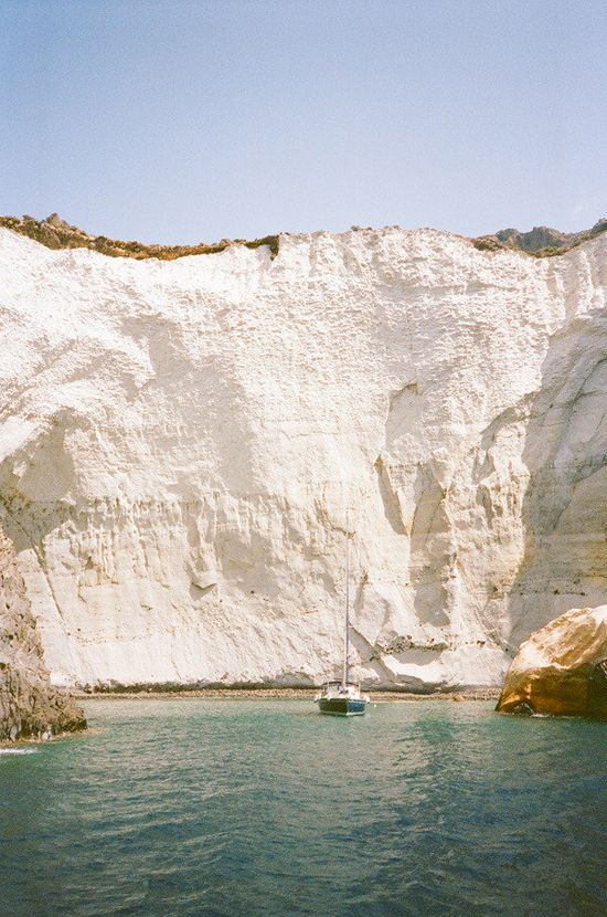 Photo of Milos island by @Sarah Yates / A House in The Hills. #Greece #Milos