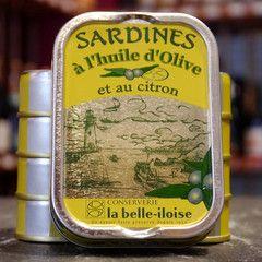 Sardine mit Zitrone und Olivenöl