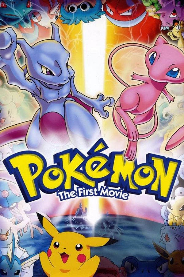 Pokemon The First Movie In 2020 Pokemon Movies Pokemon Mewtwo Strikes Back