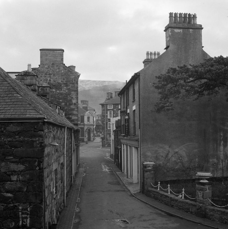 Item: Photograph of a street view in Dolgellau, Wales | Tate