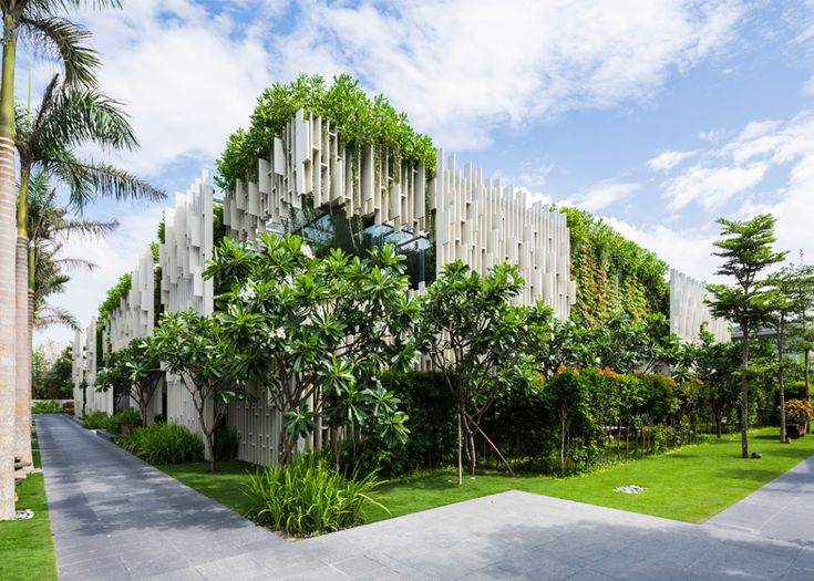 17 best images about vietnamese architecture on pinterest for Garden pool hanoi