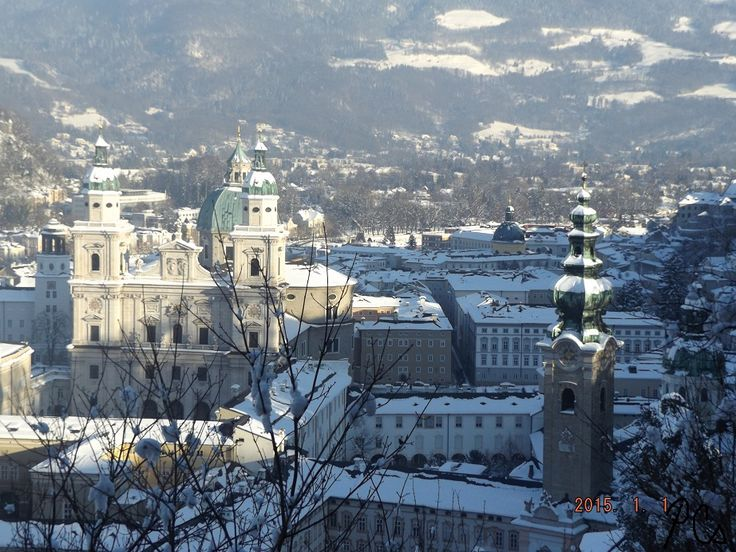 Altstadt & Dom in winter