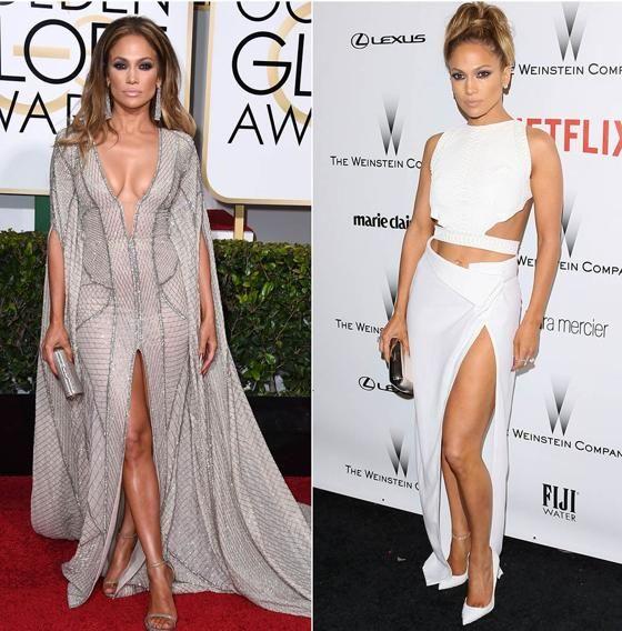 Jennifer López is simply gorgeous * 2015 Golden Globes Party Pics   Jennifer Lopez