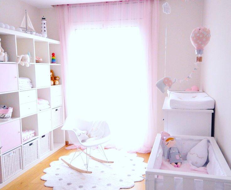 girl nursery. Eames Rocking chair. Lorena canals rug. Miniroom. Ikea ...