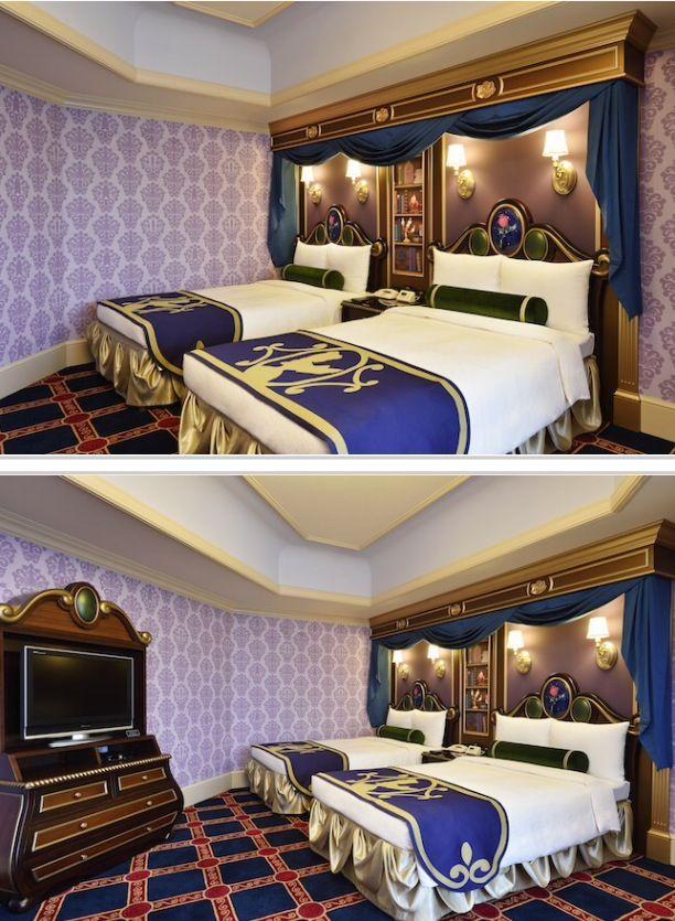 PHOTOS: Tokyo Disneyland Hotel, Beauty and the Beast themed hotel room