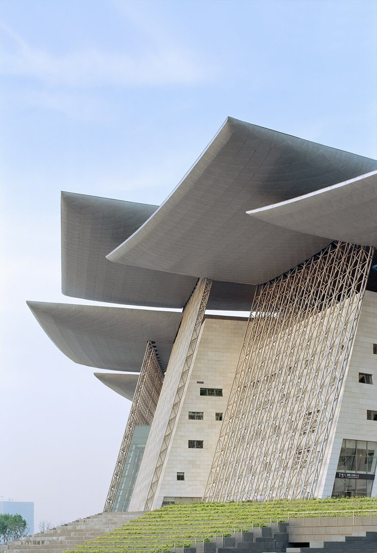 Wuxi Grand Theatre, Wuxi, 2012 by PES - Architects