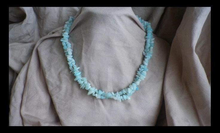 Amazonite Chip Necklace