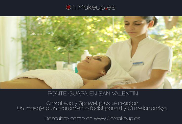 SORTEO DE SAN VALENTÍN!  Un masaje o un tratamiento facial para ti y tú mejor amiga. Apúntate!  es muy  fácil.