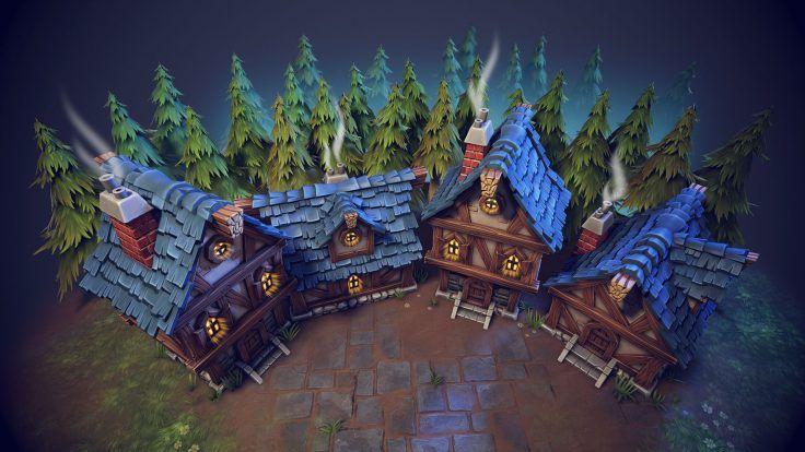 Village by Alexei Alander