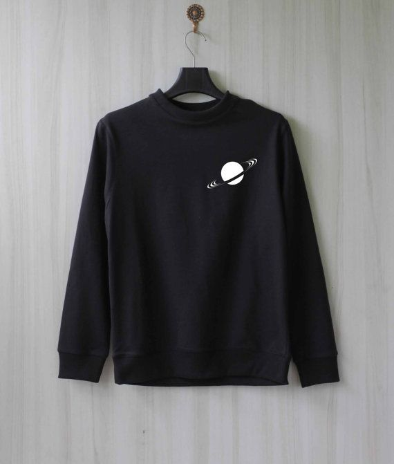 Saturn Ring Saturn Sweatshirt Sweater Shirt Size XS S M by SaBuy