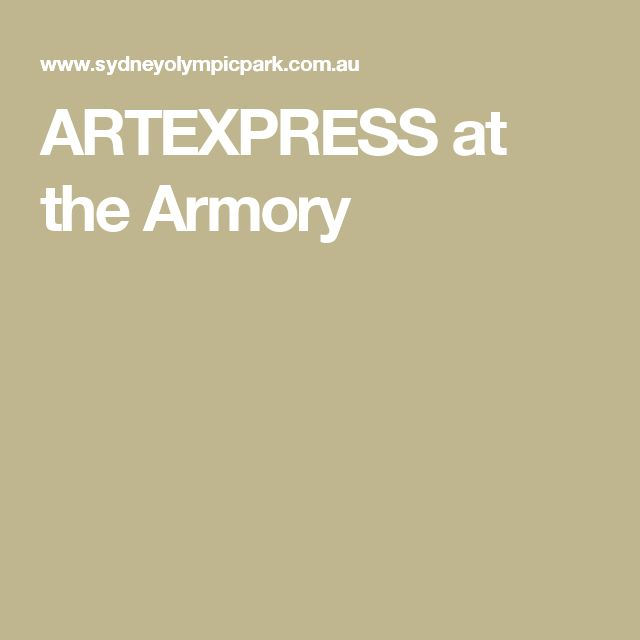 ARTEXPRESS at the Armory