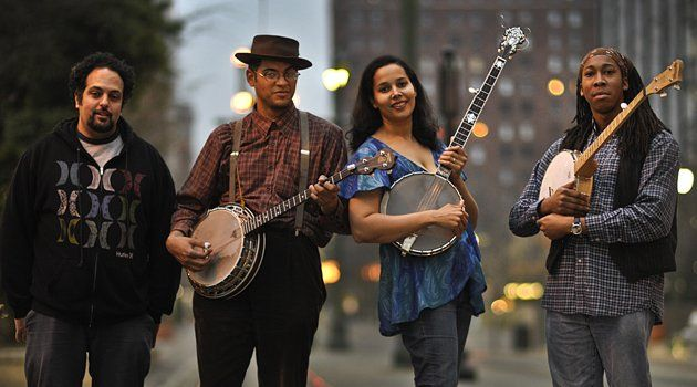 "@KevinAllred: ""@CountryMusic Carolina Chocolate Drops. draws on traditional bluegrass. fuses current R&B & country (check the Blu Cantrell ""Hit Em Up Style"" cover)"""