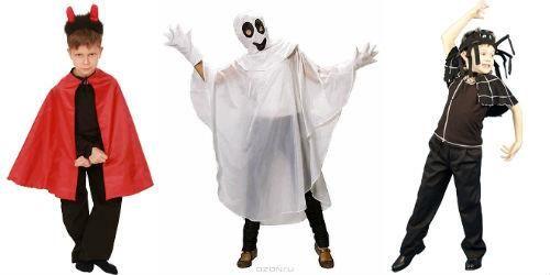 Костюмы для мальчиков на halloween