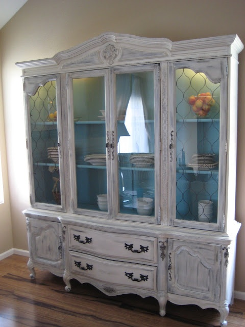 Relove: Antique Bassett China Cabinet {for sale}