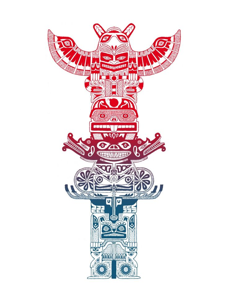 Totem Art Ilustraci 243 N Pinterest Artworks