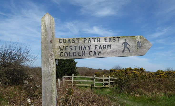 wegwijzers South West Coast Path